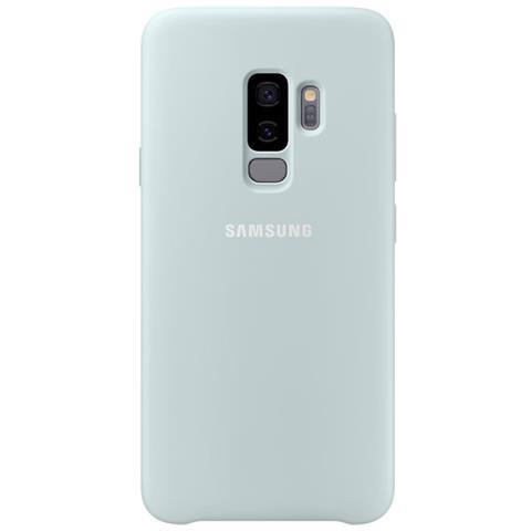 SAMSUNG Cover semirigida in Silicone per Galaxy S9+ colore Blu