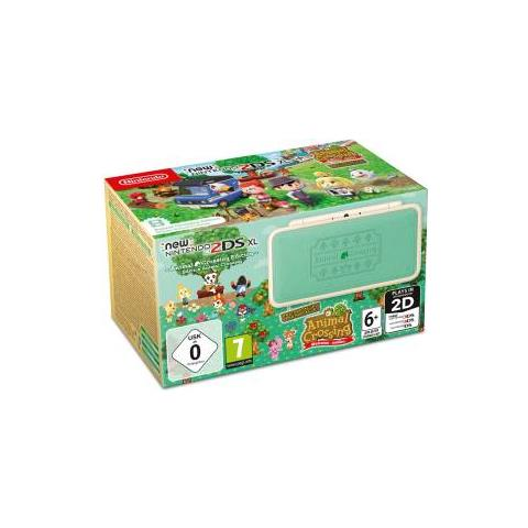 Image of 2DS XL - Animal Crossing Edition + Animal Crossing: New Leaf W. A. - Limited