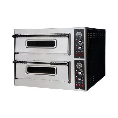 Forno Pizza Pizzeria Elettrico Bar 4+4 Pizze Rs2914