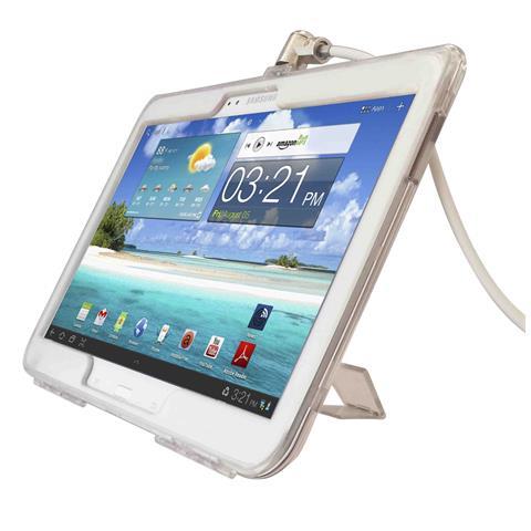 Compulocks Galaxy Tab 3 10.1 Security Lock Case Bundle, Tablet / UMPC, Trasparente, Alluminio