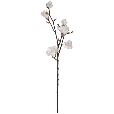 White Artificial Magnolia Stem (taglia Unica) (bianco)