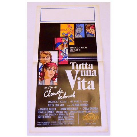 Vendilosubito Locandina Originale Del Film Tutta Una Vita