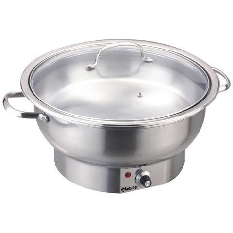 500835 Pentola scaldavivande chafing dish elettrica 3,8 Litri
