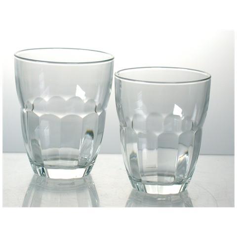 Vassoio 6 Bicchieri In Vetro Ercole Vino Cl23