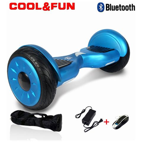 Image of 10 Pollici Hoverboard Smart Balance Monopattino Elettrico Pedana Scooter Bluetooth Due Ruote Jm Blu