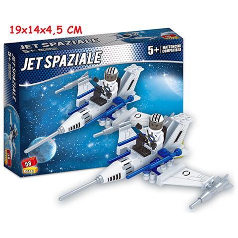 TEOREMA Costruzioni Click Clack - Jet Caccia 58 Pz Box