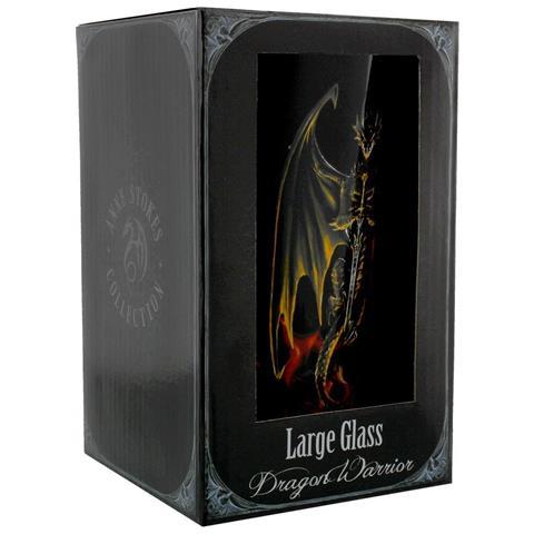 Anne Stokes - Dragon Warrior (bicchiere)