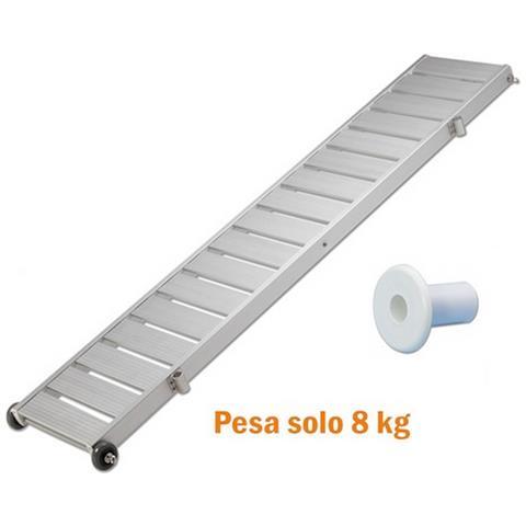 Passerella Fissa Super Leggera Pianale Alluminio Antiscivolo 190 X 36 9 Kg