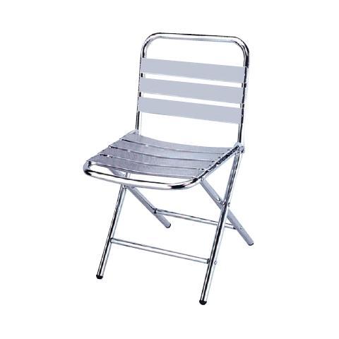 Sedia in alluminio ripieghevole confezione da 6 Pz