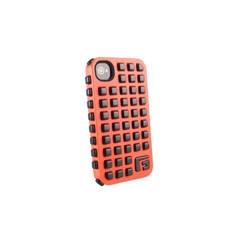 G-FORM Iphone Square - Orange Shell Black Rpt It