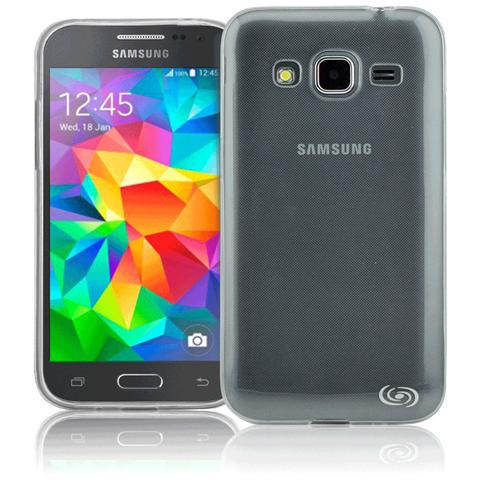 FONEX Inv Cover Ultra Sottile 0,2 mm in Morbido TPU per Galaxy Grand Prime Colore Trasparente