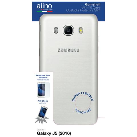 AIINO Custodia Gumshell per Samsung Galaxy J5 (2016) - Clear