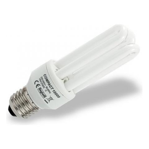 Beghelli 12 Lampadine Compact Fluorescente Luce Calda E27 25w Cod. 50204