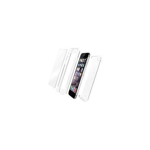 QDOS Custodia Fusion con vetro temperato per iPhone 6s Plus / 6 Plus - trasparente