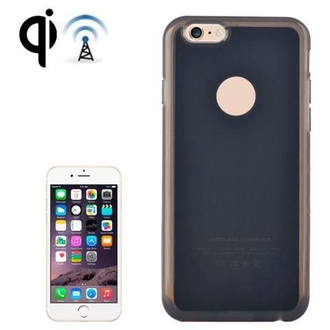 Network Shop Custodia Case Con Ricevitore Di Ricarica Wireless Nero Per Iphone 6 E 6s Plus