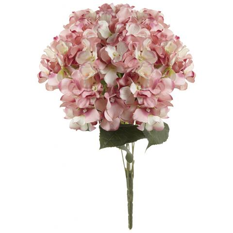 Mazzolino Di Ortensia (44 X 36 X 20cm) (rosa)