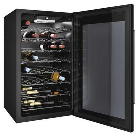 Cantinetta Vino CWC150ED Capacità 41 Bottiglie Classe B Colore Nero