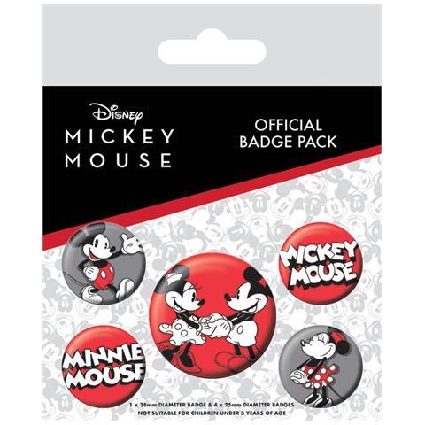 PYRAMID Mickey Mouse Badge Pack (pin Badge Pack)