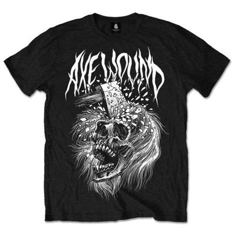 ROCK OFF Axewound - Skull (T-Shirt Unisex Tg. S)