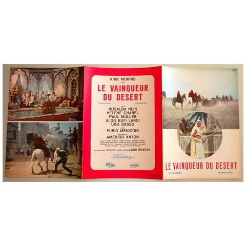 Vendilosubito Brochure Originale Del Film Il Dominatore Del Deserto 1964 In Francese