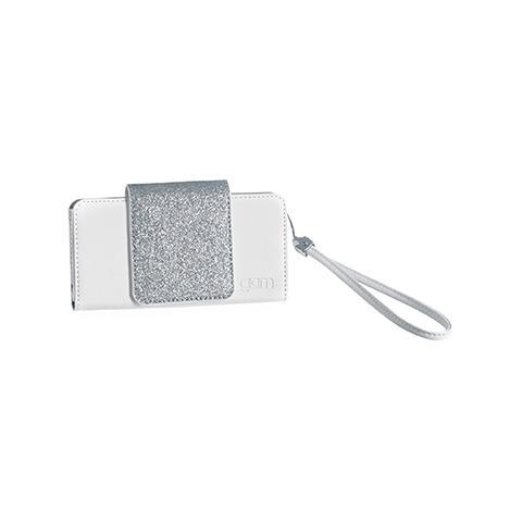CELLY Custodia Glitter per iPhone 5S - Bianco