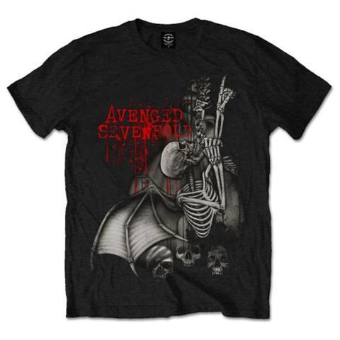 ROCK OFF Avenged Sevenfold - Spine Climber (T-Shirt Unisex Tg. XL)