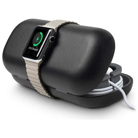 TWELVE SOUTH 12-1512 Timeporter Travel Black - Astuccio Supporto Per Apple Watch - Nero