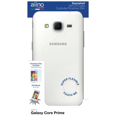 AIINO Custodia Gumshell per Samsung Galaxy Core Prime - Clear