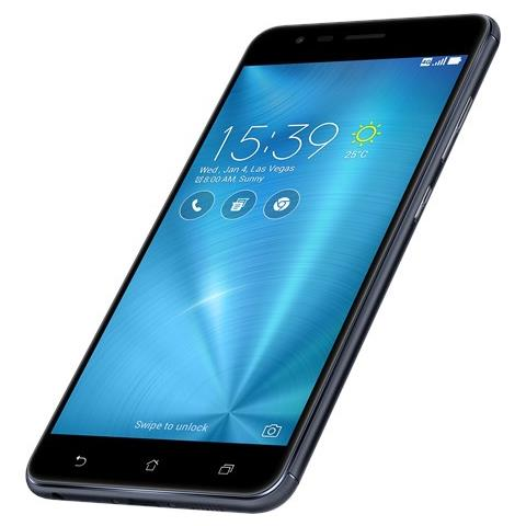 "ASUS ZenFone Zoom S Nero 128 GB 4G/LTE Dual Sim Display 5.5"" Full HD Slot Micro SD Fotocamera 13 Mpx Android Italia"