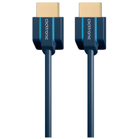 CLICKTRONIC 70702, 1m, HDMI, HDMI, -10 - 80 C