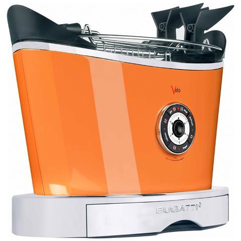 Image of Tostapane Volo Potenza 930 Watt Colore Arancione