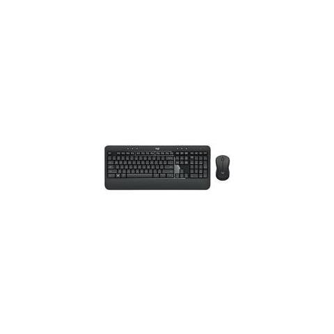 MK540 Advanced RF Wireless AZERTY Francese Nero, Bianco
