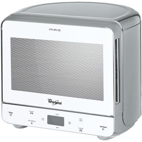 MAX 36 WSL Forno Microonde con Grill Capacità 13 Litri Potenza 700 Watt Colore Argento