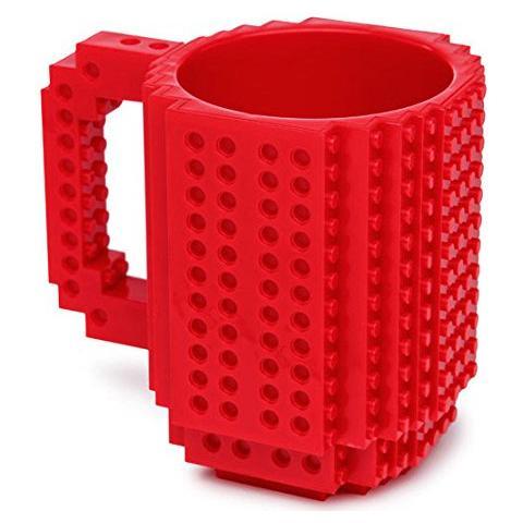Mug Lego Rossa Build On Brick Red