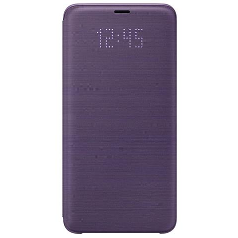 SAMSUNG Led View Cover per Galaxy S9+ colore Orchid Gray