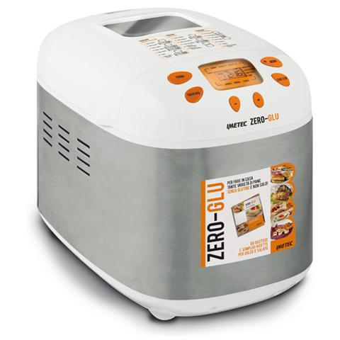 IME7277 ZERO GLU Macchina per il Pane senza Glutine Capacità 1 Kg Potenza 920 Watt + Ricettario 80 ricette