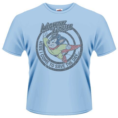PLASTIC HEAD Mighty Mouse - Save The Day (T-Shirt Unisex Tg. 2XL)