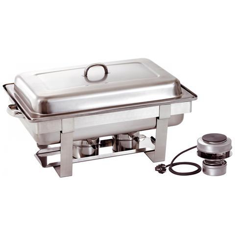 500482V Chafing dish scaldavivande GN1/1 con riscaldatore elettrico 450 W