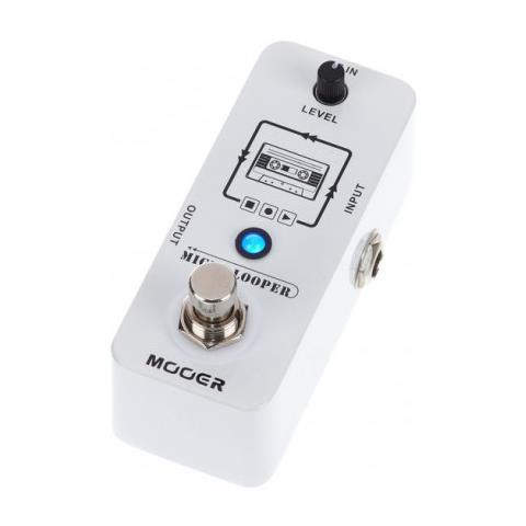 Mooer Micro Looper, Micro Loop Recording Pedal - Pedalino Chitarra Acustica, Elettrica E Basso