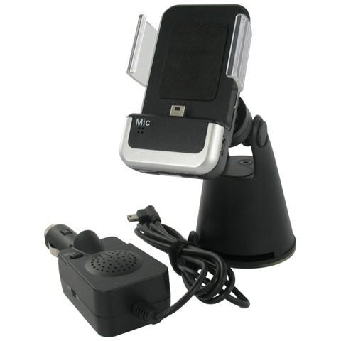 G-MOBILITY GRGMCM802 Auto Active holder Nero, Argento supporto per personal communication
