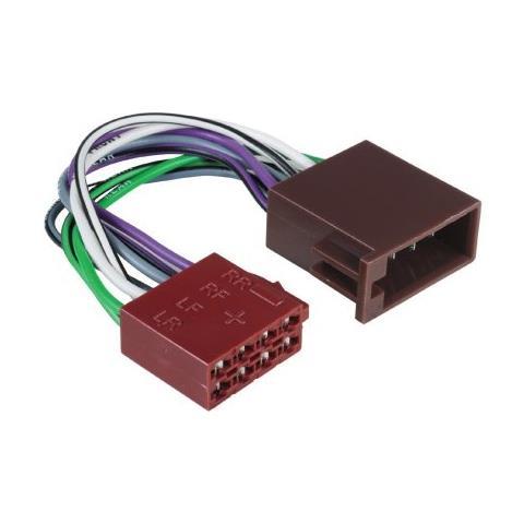 HAMA CarHiFi extension cable ISO-ISO cavo di interfaccia e adattatore