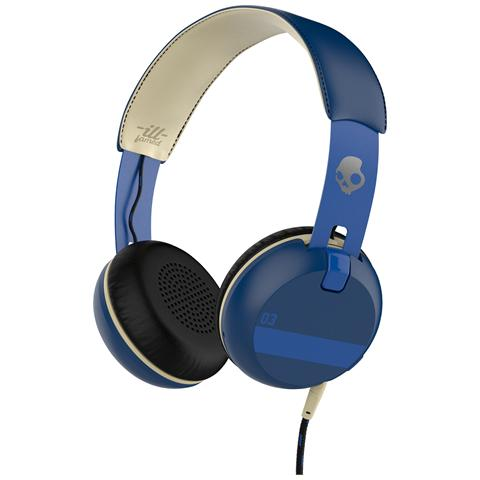 SKULLCANDY Cuffie On-Ear Grind TapTech Supreme Sound colore Blu