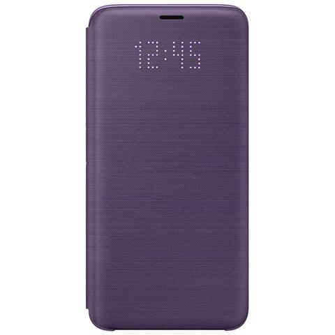 SAMSUNG Led View Cover per Galaxy S9 colore Orchid Gray