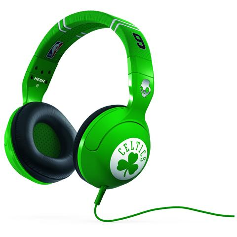 SKULLCANDY Hesh 2 Cuffie Over-Ear Mic1 Colore Verde Celtics