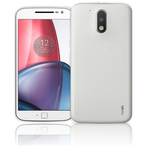 FONEX Inv Cover Ultra Sottile 0,2 mm in Morbido TPU per Motorola Moto G4 Colore Trasparente