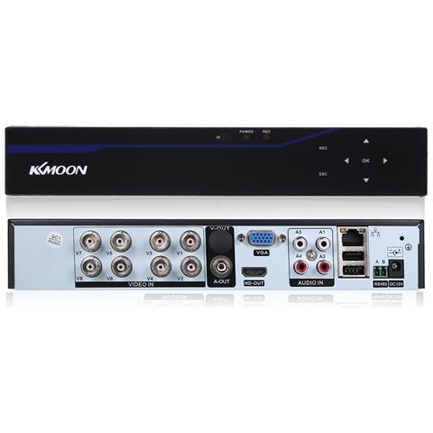 8ch Channel 5 In 1 Dvr 4m-n Touch Screen Dvr Videoregistratore Digitale