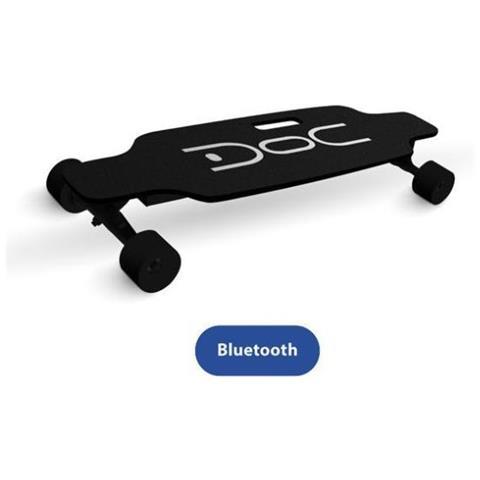 NILOX [ Ricondizionato BASIC] DOC Skateboard Plus Colore Nero