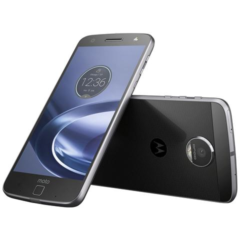 "MOTOROLA Moto Z Nero 32 GB 4G/LTE Dual Sim Display 5.5"" Quad HD Slot Micro SD Fotocamera 13 Mpx Android Italia"