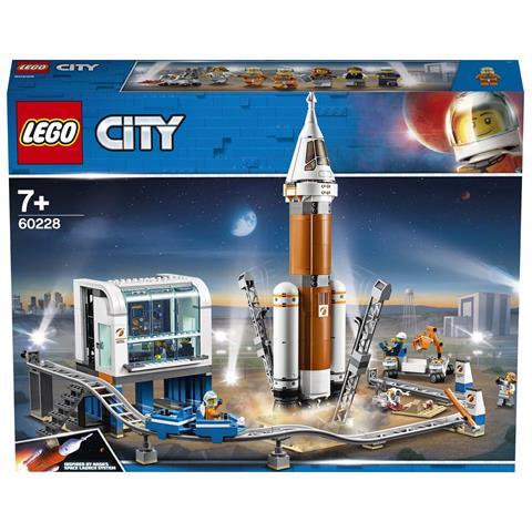 LEGO 60228 City Razzo Spaziale e Centro di Controllo