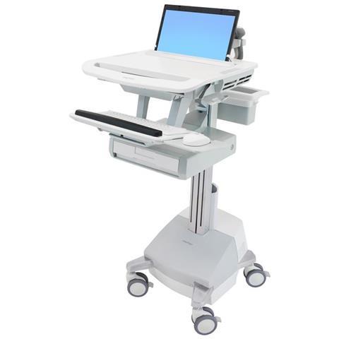 Carrello per Laptop StyleView Colore Bianco e Grigio